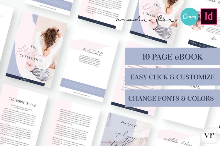 Lady Coach eBook Canva Template example image 1