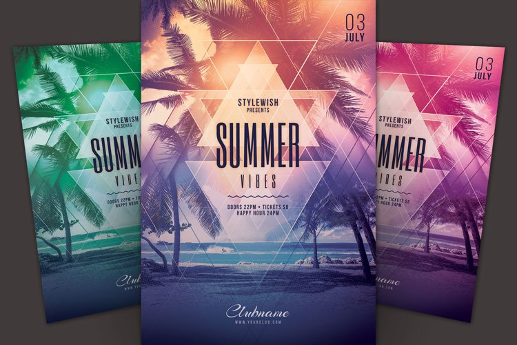 Summer Vibes Flyer example image 1