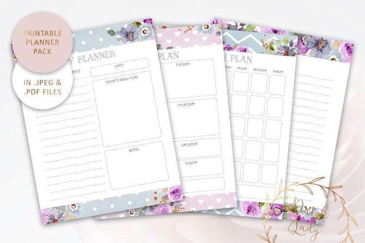 Printable Planner Bundle #3 - JPEG & PDF Files