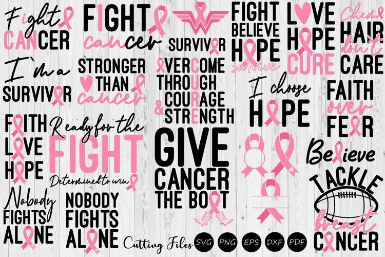 Breast Cancer Awareness Bundle Breast Cancer Svg 403992 Svgs Design Bundles