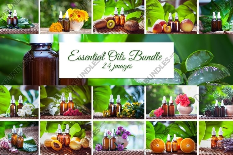 Essential Oils Bundle 24JPG example image 1