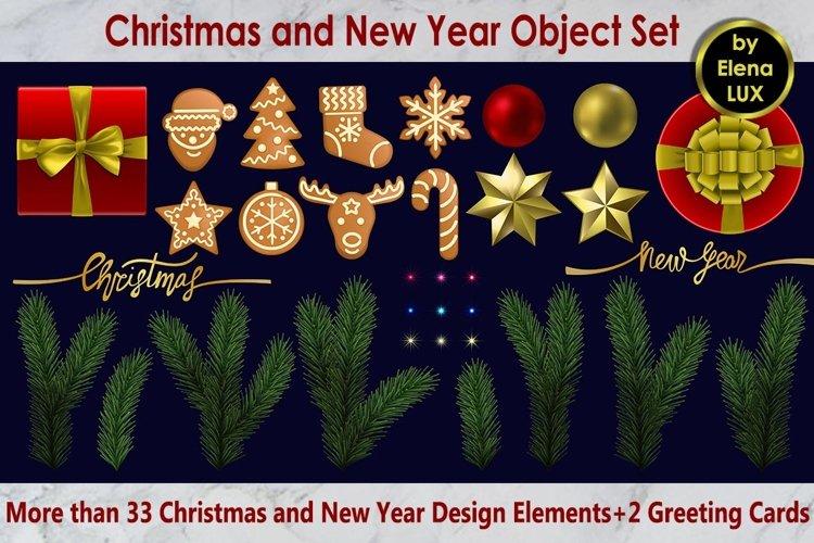 Christmas Object Set example image 1