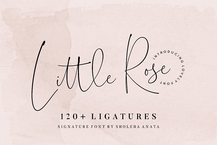 Little Rose example image 1