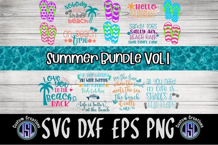 Summer Bundle Vol 1   Set of 14   SVG DXF EPS PNG