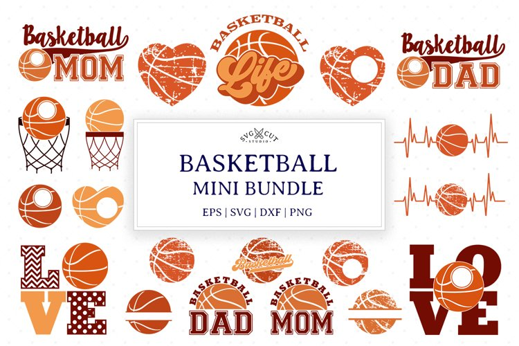 Basketball Bundle SVG Cut Files