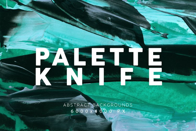 Palette Knife Paint Textures 2