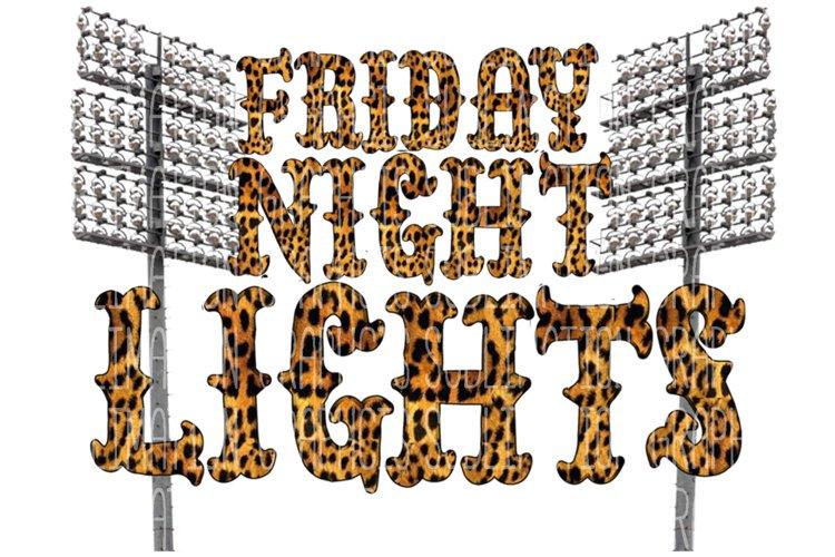 Friday Night Lights Sublimation Digital Download