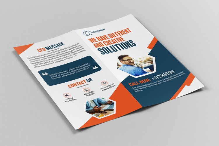 Bifold DL Brochure Template example image 1