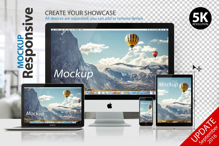 RESPONSIVE MOCKUP example image 1