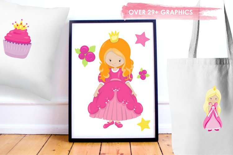 Fairytale Princess  graphics and illustrations - Free Design of The Week Design3