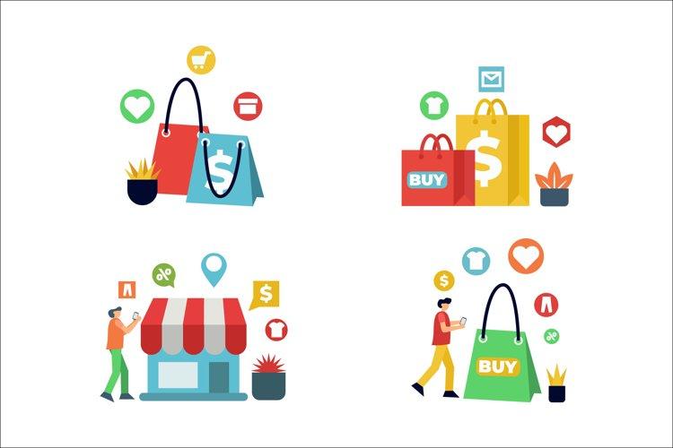 Online Shopping Vectors