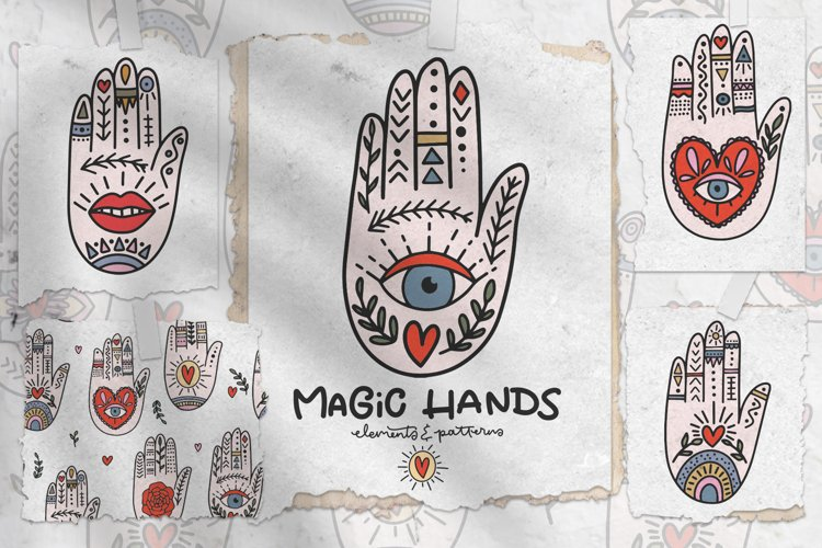 Magic Hands Graphic Collection