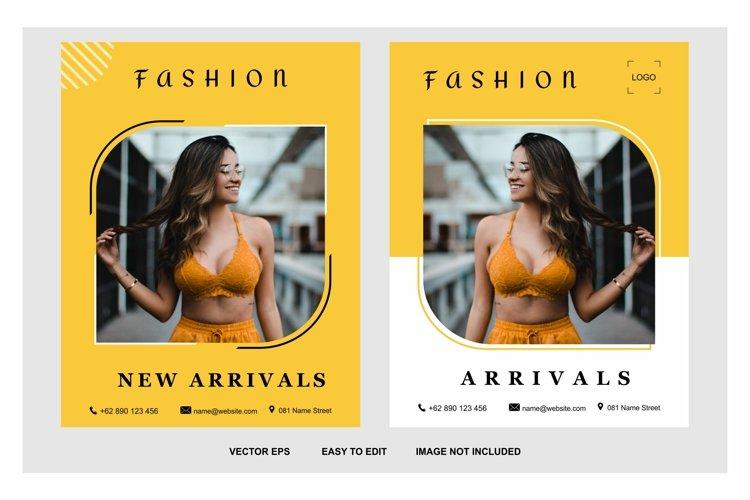 fashion media post template example image 1