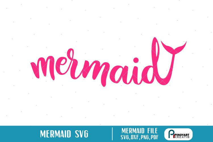 mermaid svg,mermaid svg file,mermaid dxf,mermaid dxf file example image 1