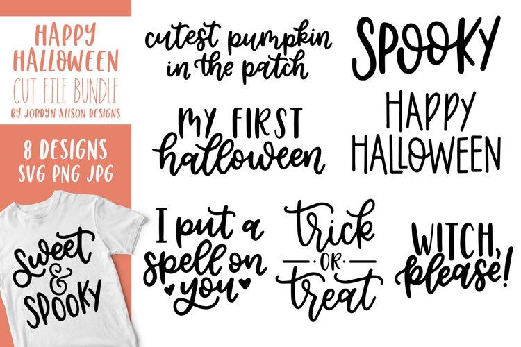 8 Halloween SVG Cut File Bundle example image 1
