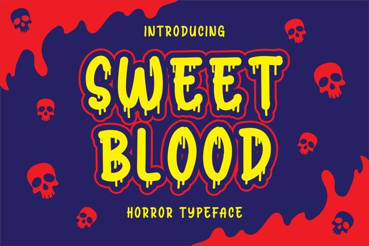 Sweet Blood - Horror Typeface example image 1