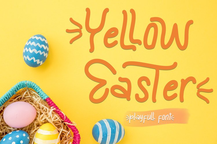 Yellow Easter example image 1