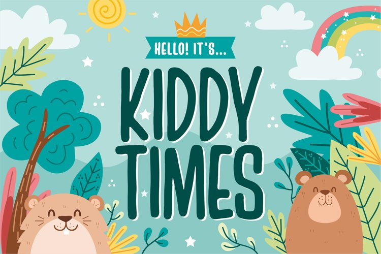 Kiddy Times example image 1