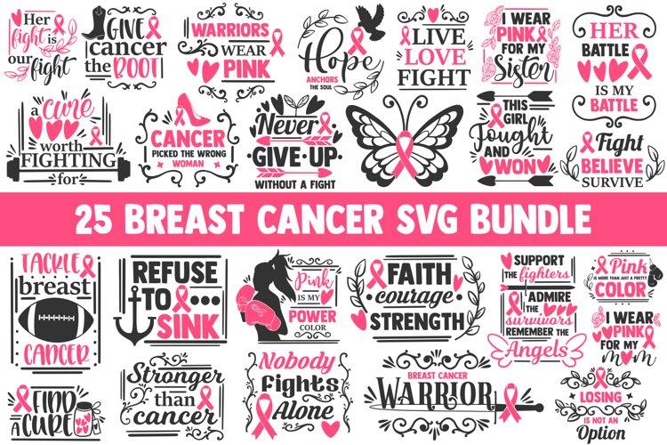 Breast cancer svg bundle, cancer awareness svg, cancer svg