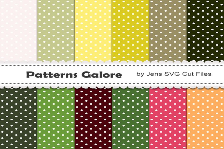 Dots Digital Papers 818