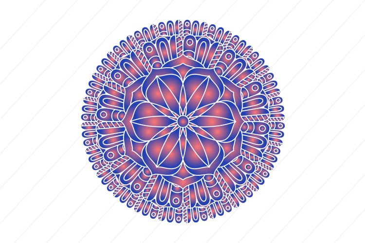 Mandala ornament vector image example image 1