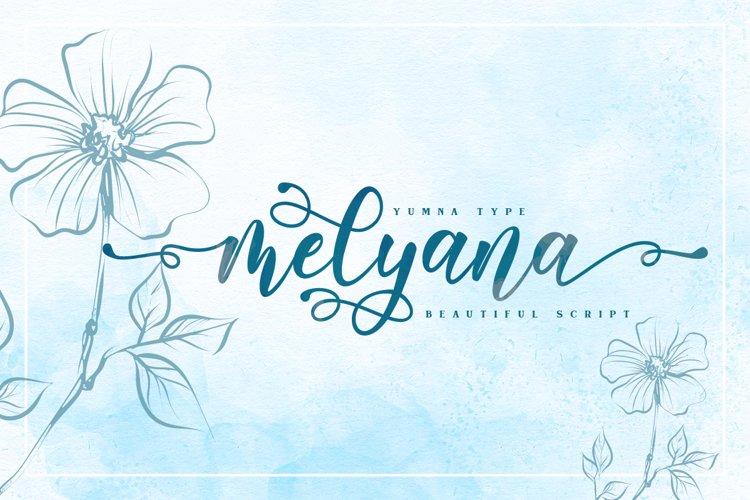 Melyana Script example image 1