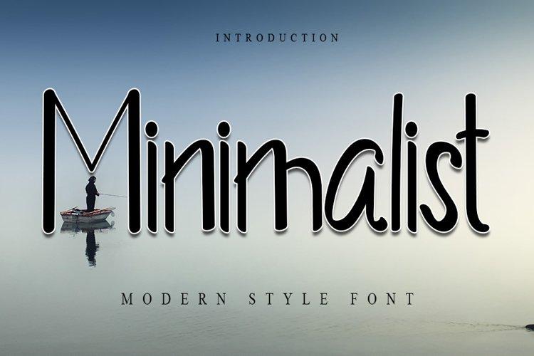 Minimalist example image 1