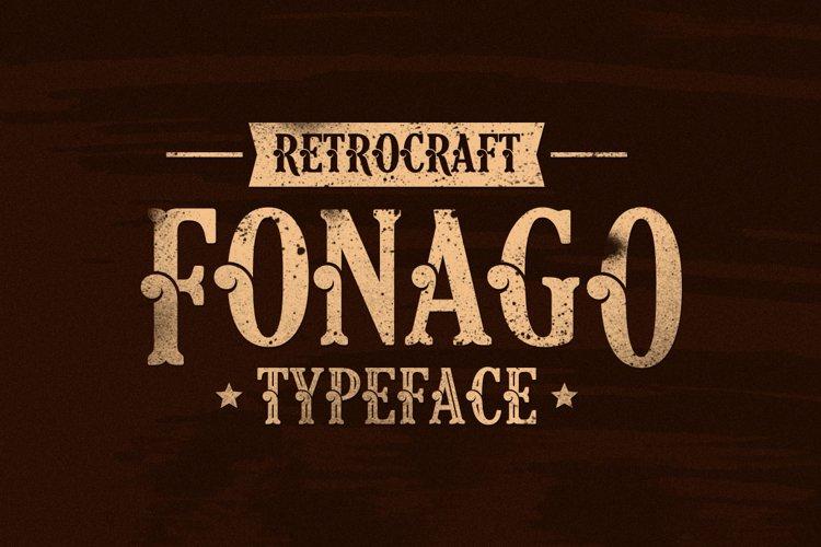 Fonago typeface 01