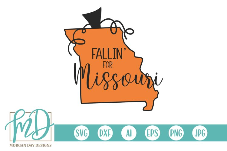 Halloween - Pumpkin State - Fallin For Missouri SVG