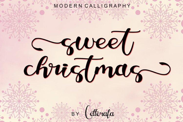 Sweet Christmas - Modern Calligraphy example image 1