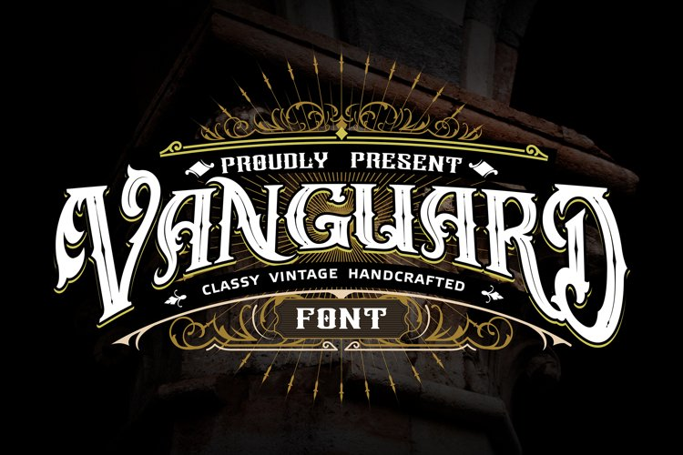 Vanguard | Classy Vintage Handcrafted example image 1