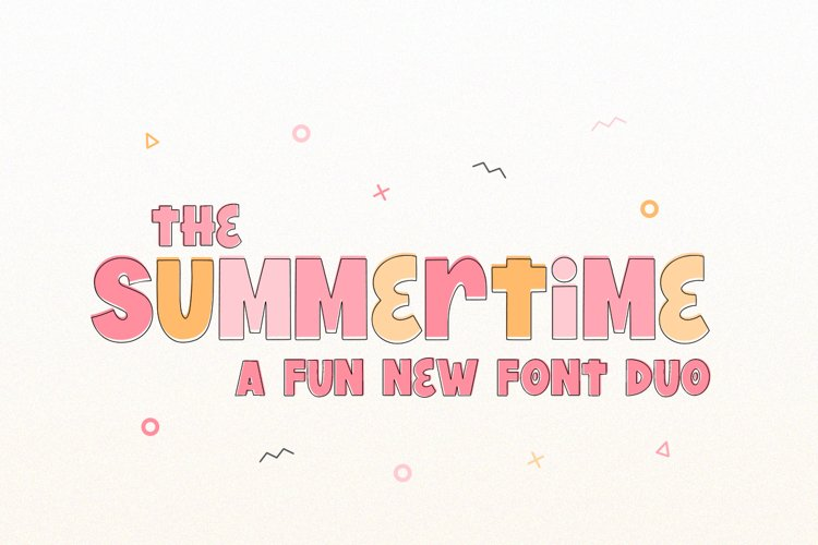 Summertime Font Duo example image 1