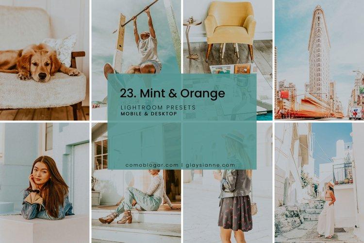 23. Mint & Orange example image 1