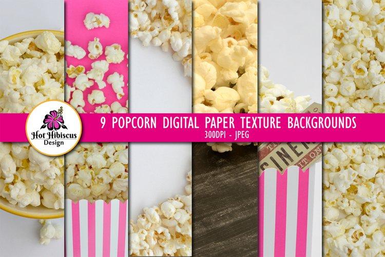 Popcorn Photographs | Popcorn Stock Photography Bundle