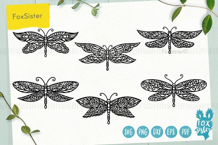 Dragonfly svg bundle, Svg Png Pdf Eps Dxf, Animal svg example image 1