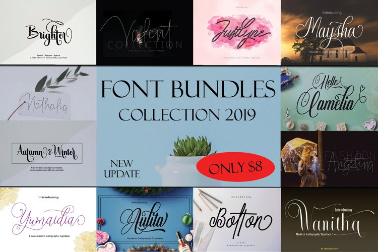 BUNDLES COLLECTION 2019 example image 1