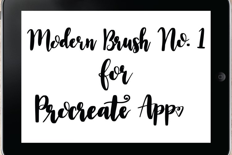 SVGSUPPLYs Procreate Brush No.1 - Brush for Procreate iOS ap
