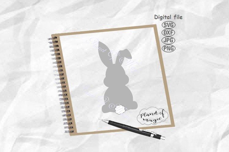 Bunny Svg, Easter Svg, Easter Bunny Svg, Rabbit Svg