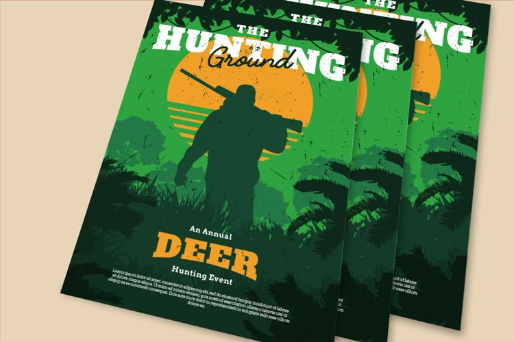 Hunting Ground Flyer example image 1