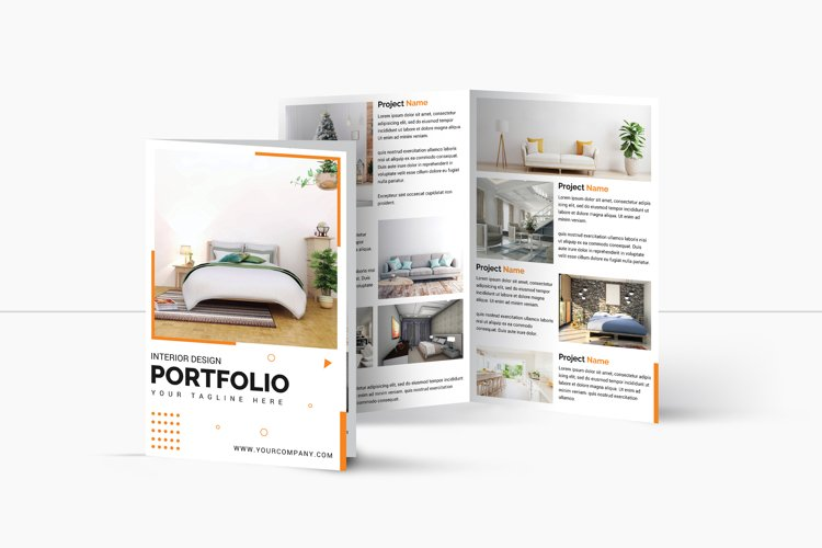 Interior Design bifold Brochure   Multipurpose Brochure example image 1