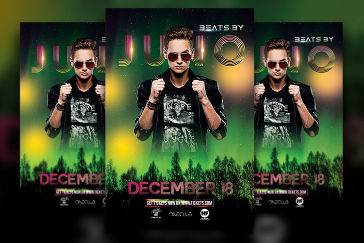 DJ Flyer example image 1