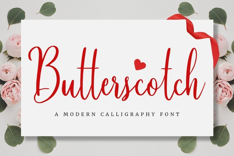 Calligraphy/Cursive Font example image 1