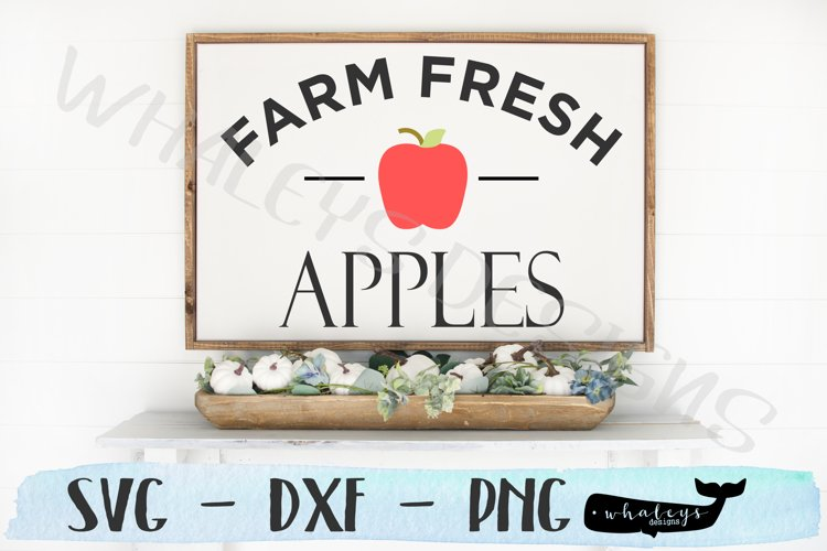 Farm Fresh Apples- Fall, Thanksgiving, Autumn, Halloween example image 1