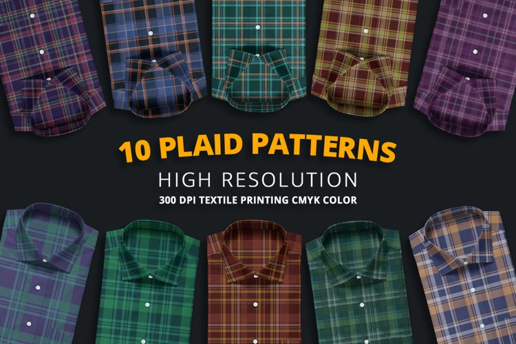 10 Plaid Patterns example image 1