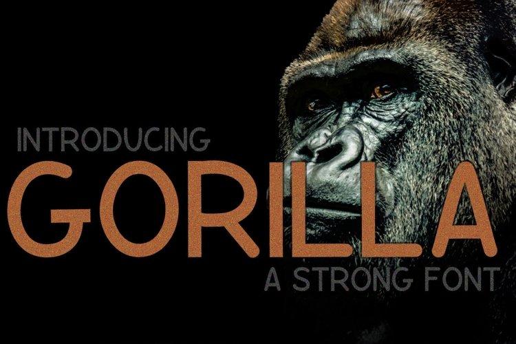 Gorilla  example image 1