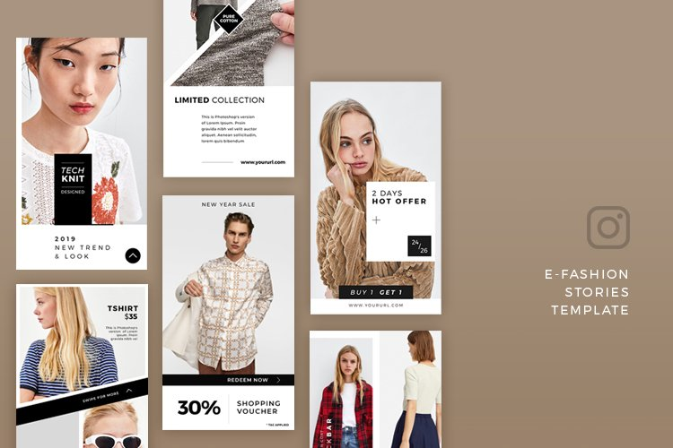E Commerce Stories Template