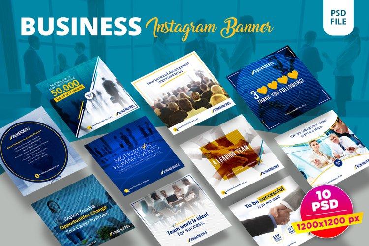 Business Instagram Banner Pack