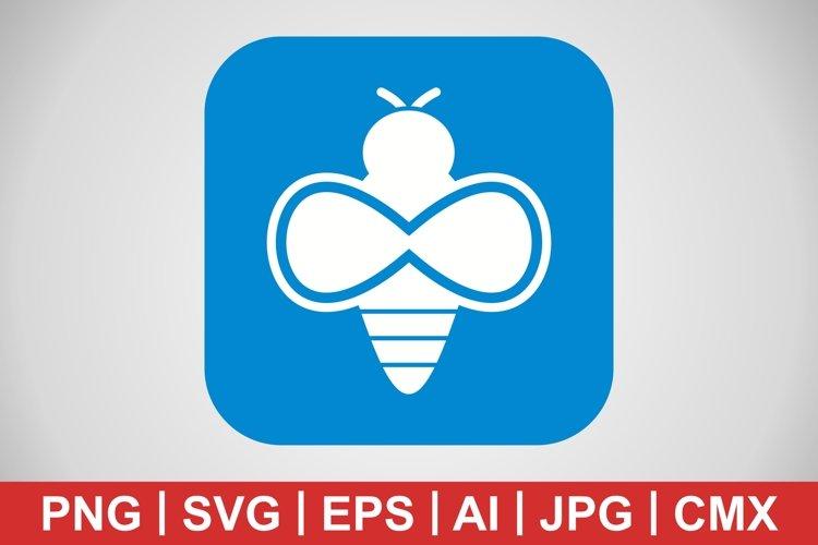 Vector Bee Icon example image 1