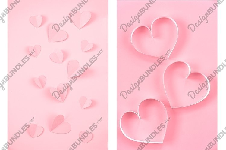 Set 2 horizontal images. Valentine's Day. example image 1