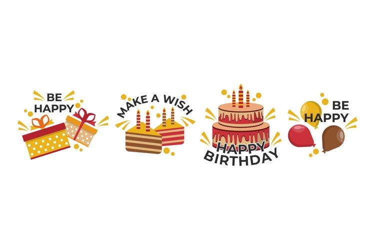 Happy Birthday Illustrations